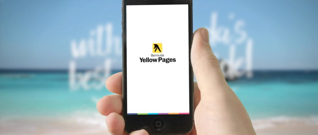 Click to watch Bermuda Yellow Pages App